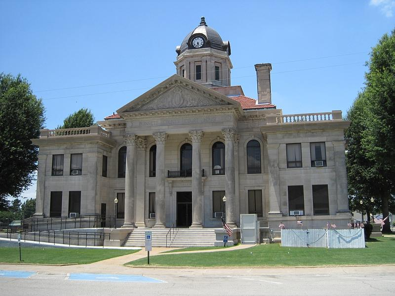 Poinsett County Courthouse in Harrisburg