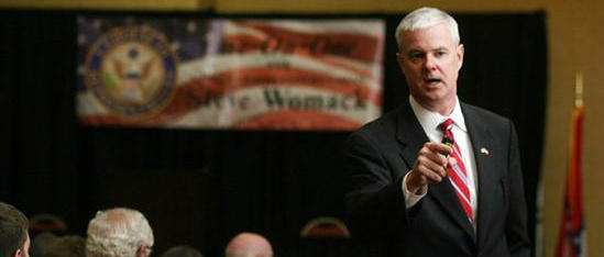U.S. Rep. Steve Womack (R-Rogers), representative of Arkansas' 3rd congressional district