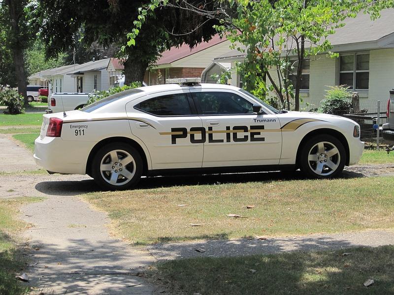 Trumann police car