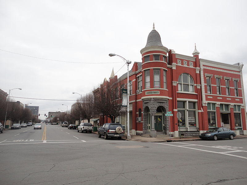Down Main Street - Pine Bluff, Arkansas