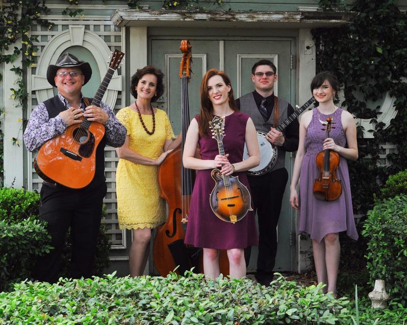 Trinity River Band: (L to R) Michael Harris, Lisa Harris, Sarah Harris, Joshua Harris, Brianna Harris