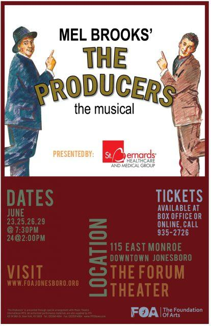 The Producers poster.