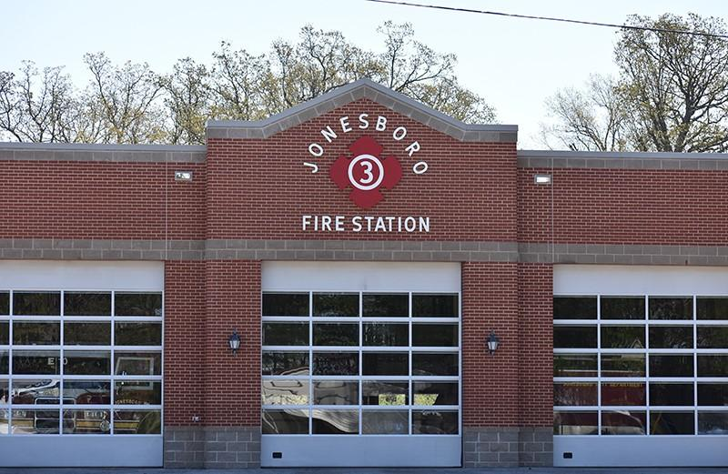 Jonesboro Fire Station #3 on Johnson Ave.