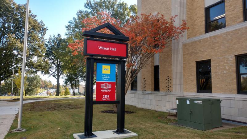 New York Institute of Technology College of Osteopathic Medicine at Arkansas State University in Wilson Hall in Jonesboro