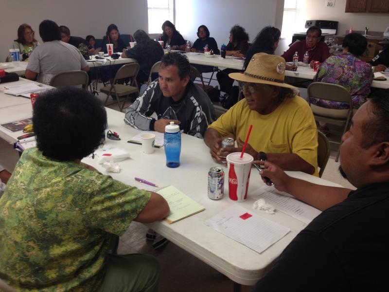 Many turned up every other weekend to teach and learn the Quechan Language at Ft. Yuma.