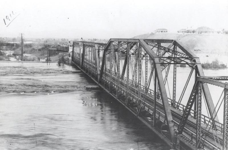 Yuma Flooded, 1916
