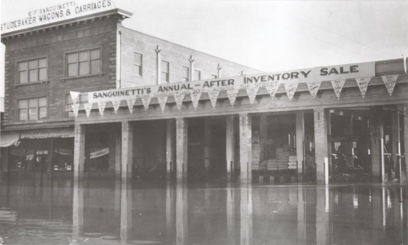 Yuma Flooded, 1916
