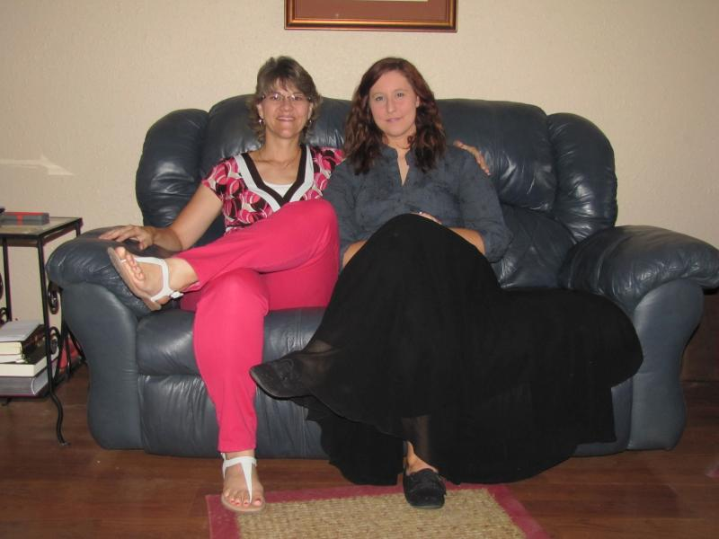 Paula Milner (Left) and her step/adoptive daughter, Jessica Milner (Right)