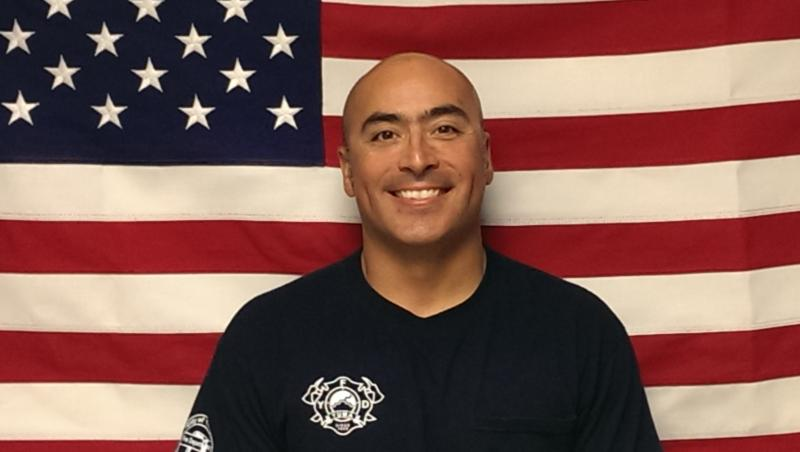 Robert Rillamas, Interim Fire Captain and Paramedic for the Yuma Fire Department