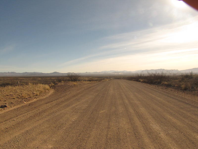 Douglas, AZ desert road