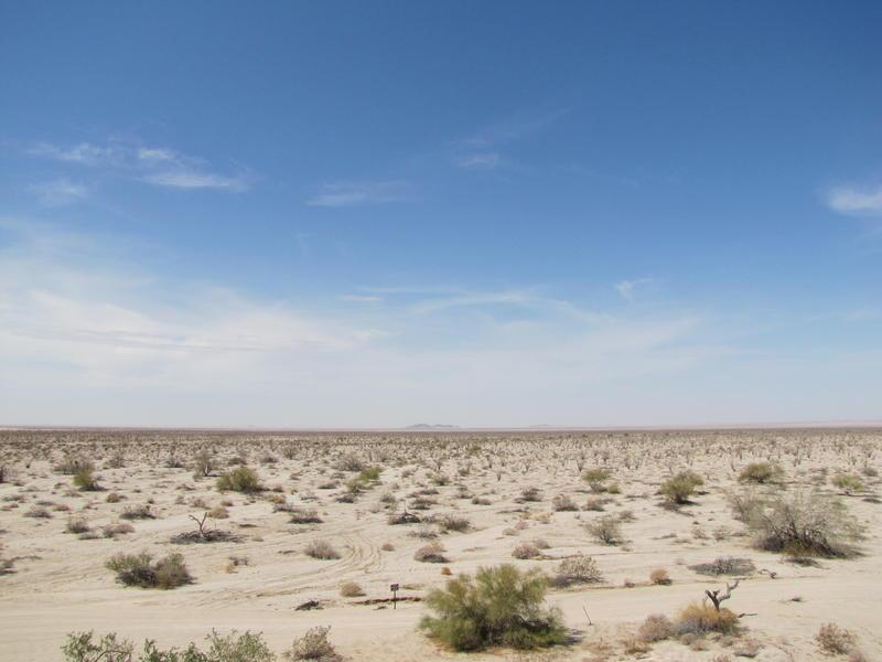 Stretch of borderlands near Yuma, Arizona