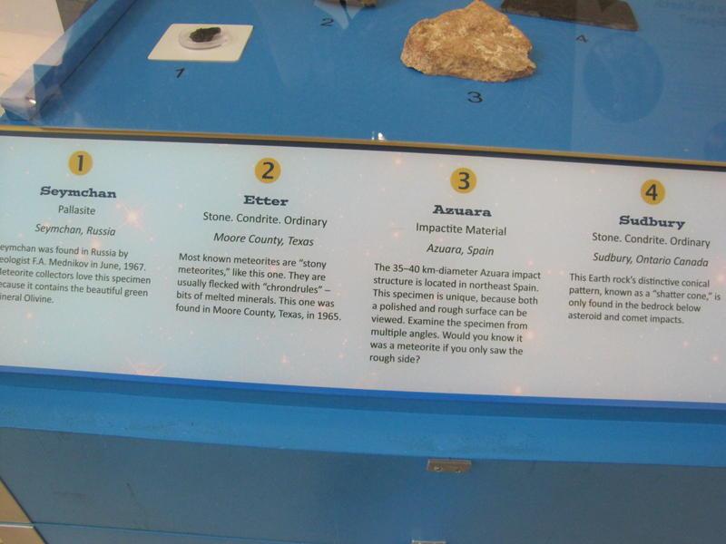 Meteorite Display