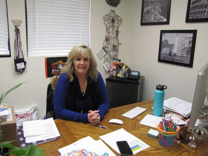 Trish Valentin, Principal of H. L. Suverkrup