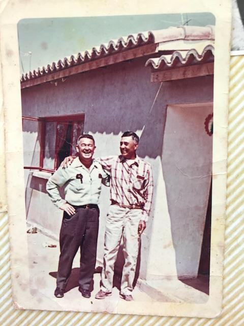 My grandfather Jose Felix Beltran. (pictured right)