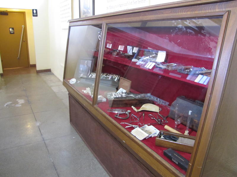 Part of the Prison Medicine exhibit at Yuma Territorial Prison
