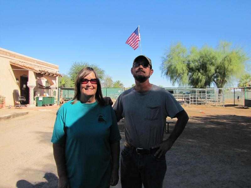Wild World Zoo/Camel Farm Co-Owners Terrill Al-Saihaiti and her brother, Ben