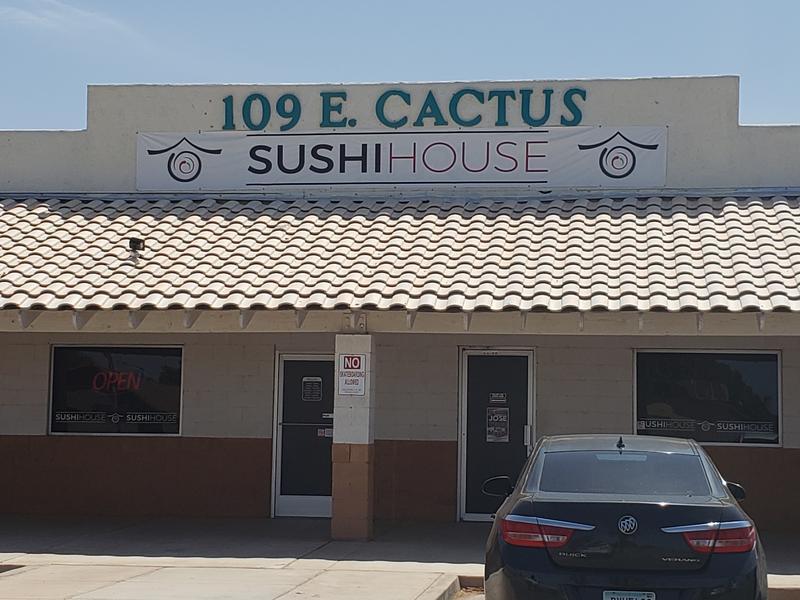 Sushi House in Somerton's Cactus Plaza