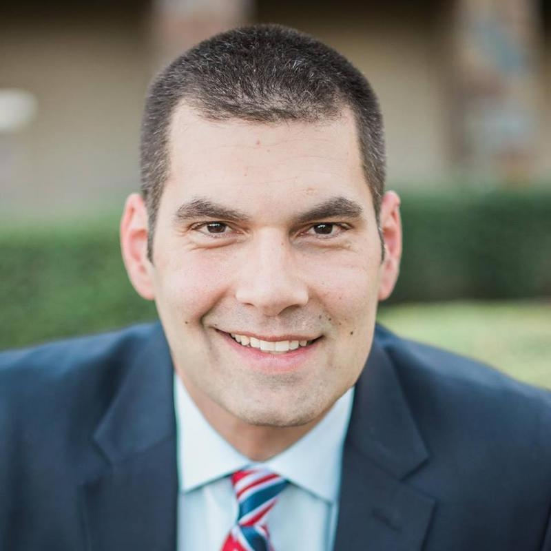 Rodney Glassman is an Air Force reservist, a lawyer, and a former Tucson City Councilman.