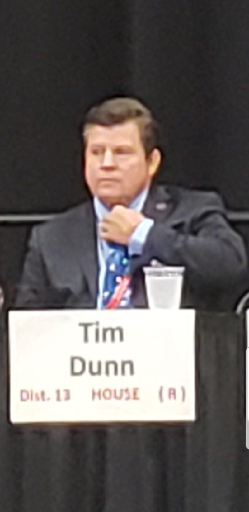 State Rep. Tim Dunn is running for re-election in District 13.