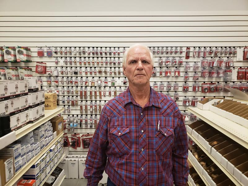 Gene Swenson is the owner of DNK Plumbing Supply, with locations in Yuma and the San Luis Business Incubator. Swenson said he opened in San Luis because he is the only wholesaler for plumbing supplies there.