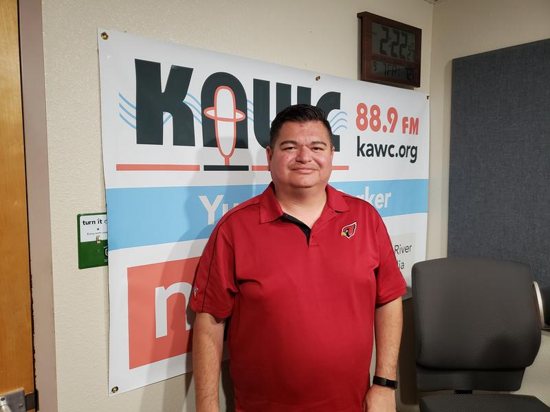 Somerton Mayor-Elect Gerardo 'Jerry' Anaya visited the KAWC studios recently to talk about what makes Somerton 'The Best Little City in Arizona'.