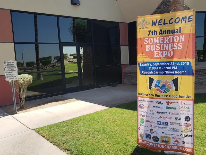7th Annual Somerton Business Expo 2018 at the Cocopah Casino