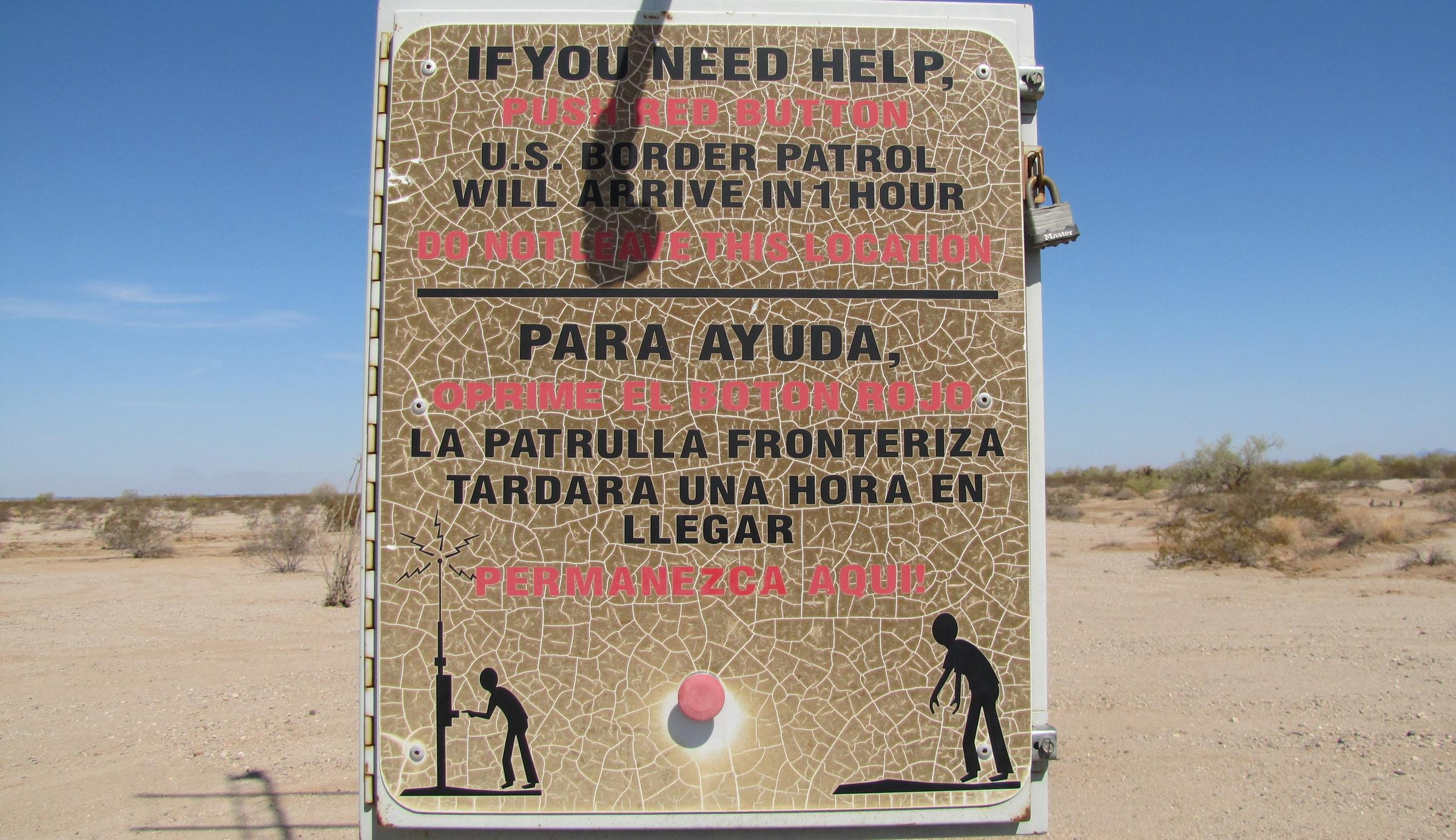 Human Rights Org Creates DNA Database for Dead Migrants; Border Patrol Rescue Beacons Mark 15th Year | KAWC