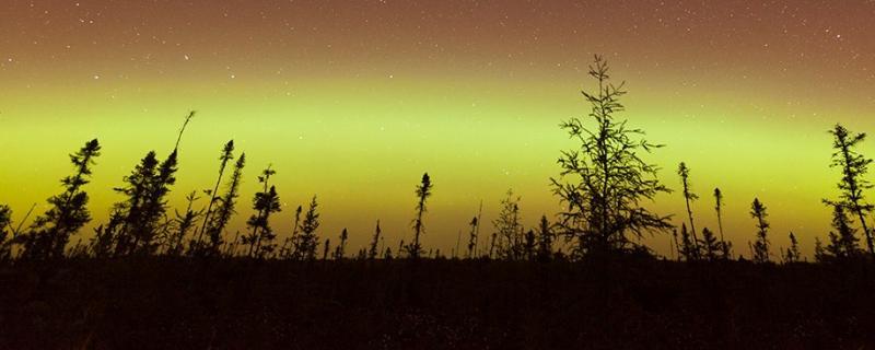 aurora borealis Oct. 2, 2016
