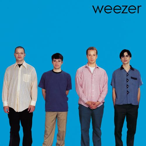 1994 self-titled album (or rather, 'the blue album') from Weezer