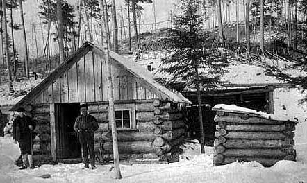 Rainy Lake Cabin 1894