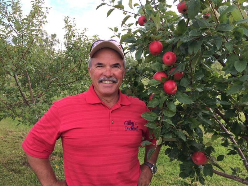 David Gilbertson, owner of Gilby's Nursery and Orchard