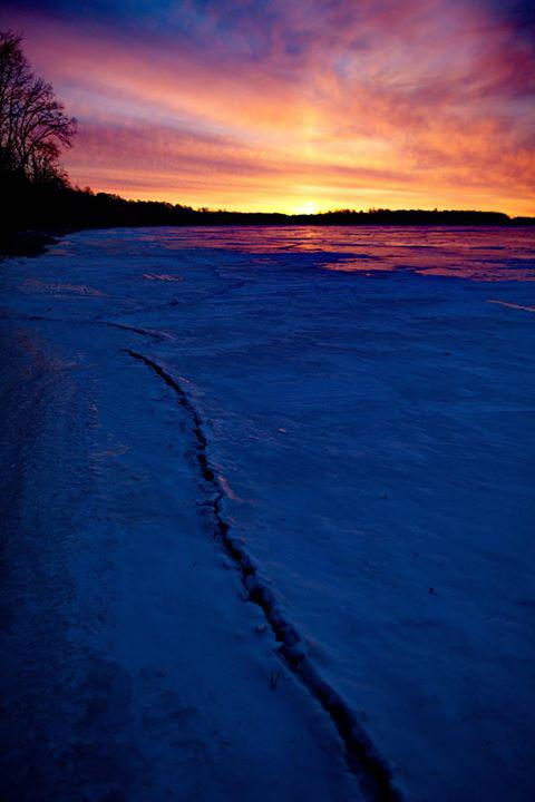 Pre Dawn on Lake Bemidji