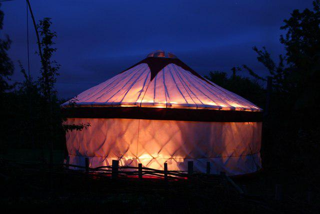 IEN Yurt Construction