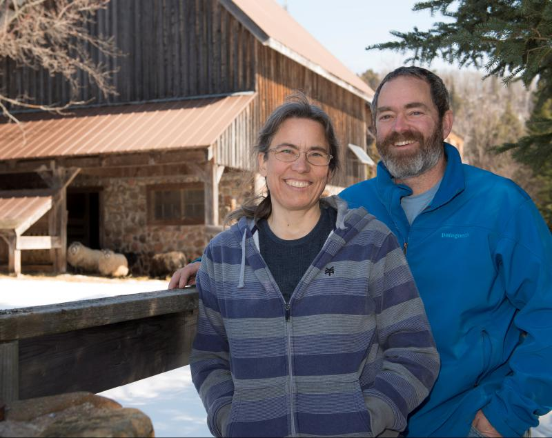 David and Lise Abazs of Round Lake Farm