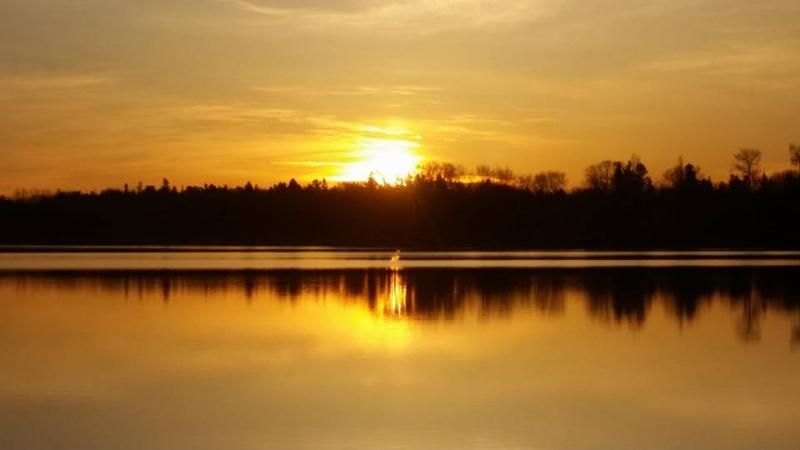Sunrise on the Rainy River