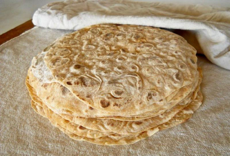 Kent's lefse, made from his own potatoes