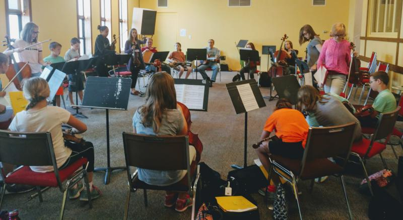 Headwaters School of Music and the Arts Fiddle Camp