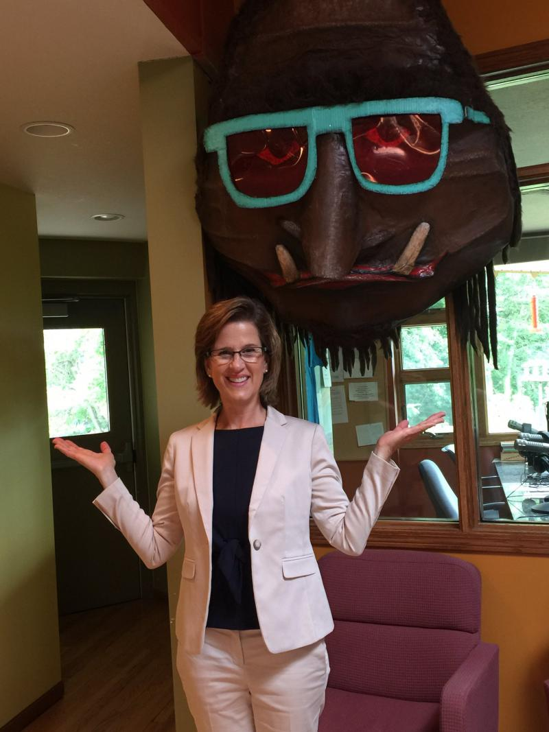 Sasquatch meets State Auditor Rebecca Otto
