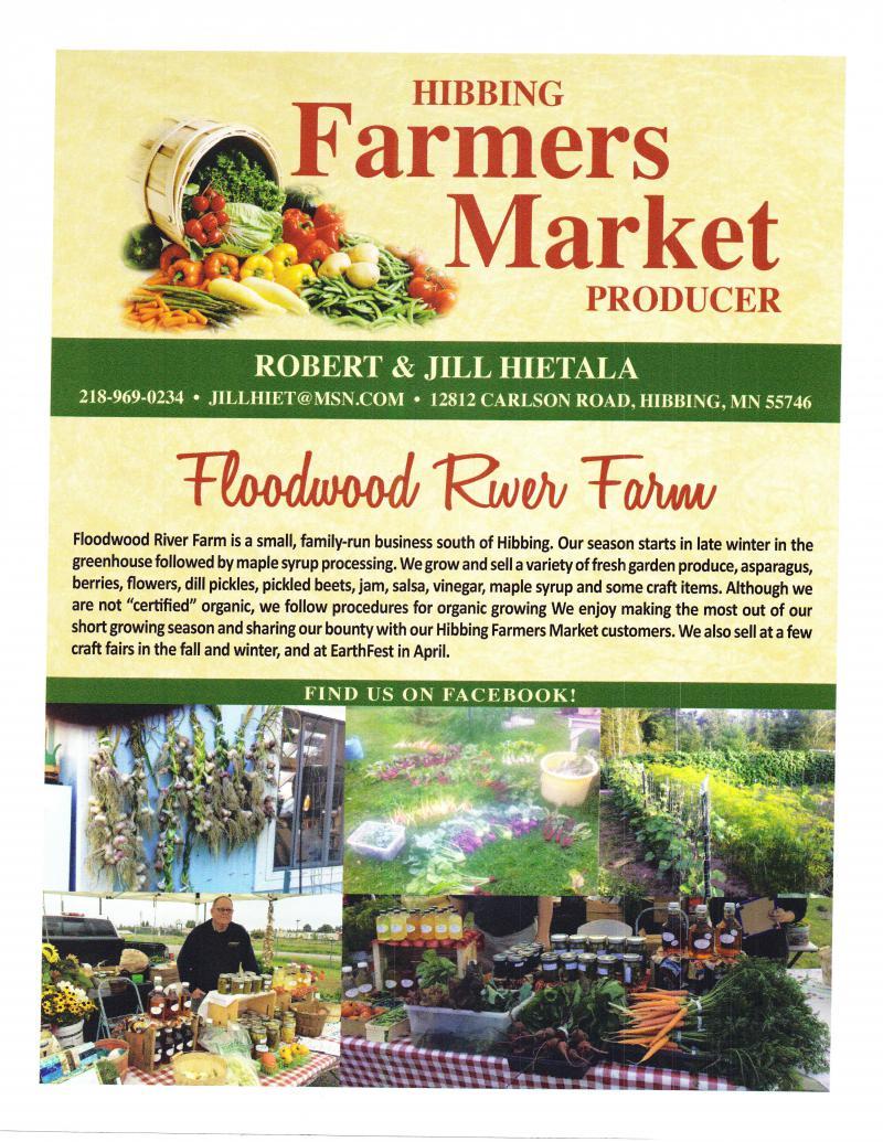 About Floodwood River Farm