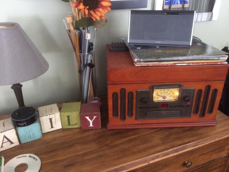 Andy's radio