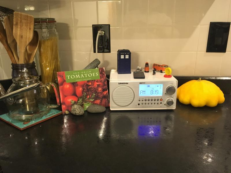 Siau Yean and Ethan's kitchen radio
