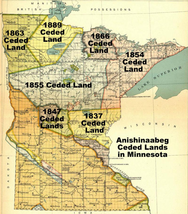 Treaty Territories in Minnesota