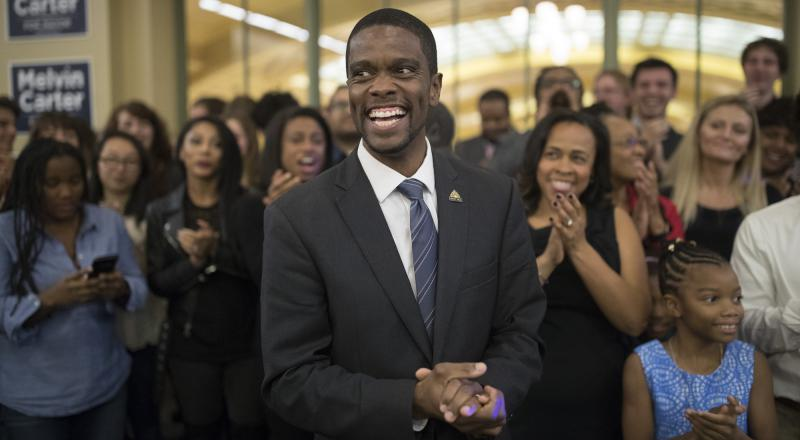 St. Paul's Mayor Elect Melvin Carter