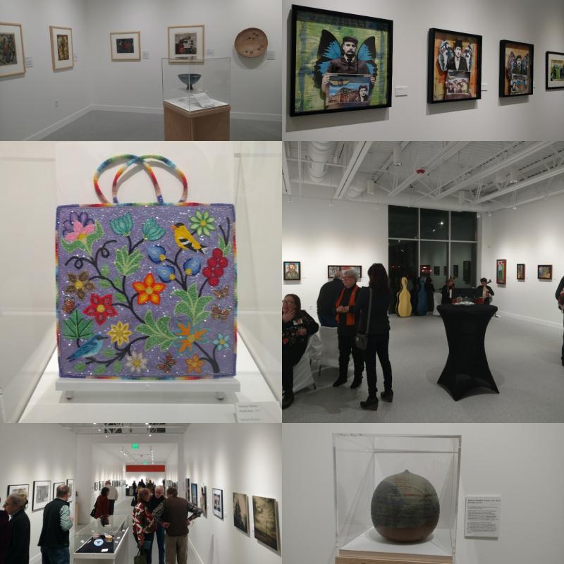 Inside the new Watermark Art Center