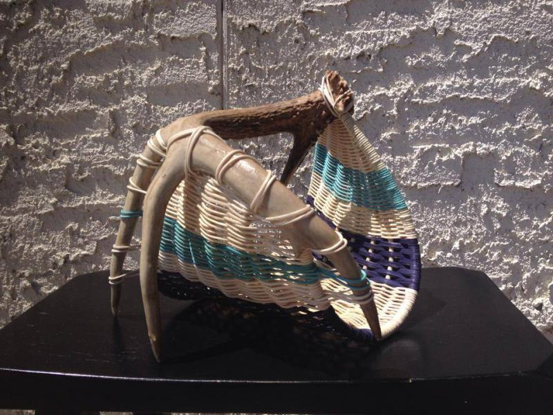 Antler basket by Shannon Lucas Westrum