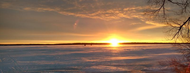 Lake Bemidji Sunrise