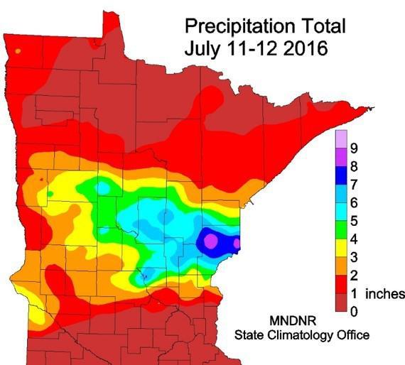 Precipitation event