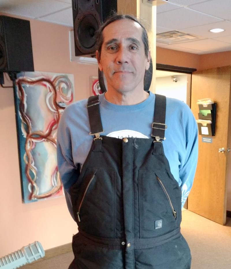 David Manuel at KBXE studio