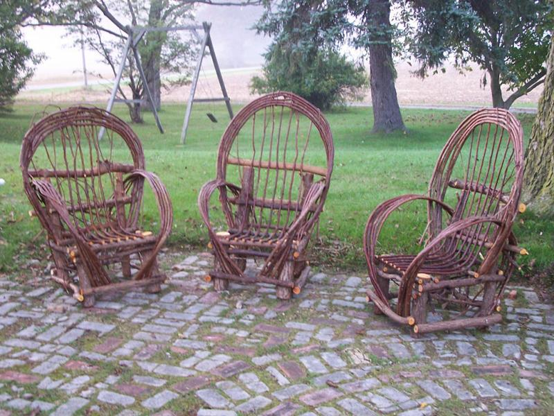 Ely Folk School: Bent Willow Chairs