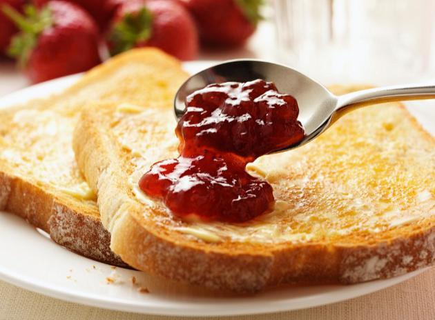 Mmmm. Toast.